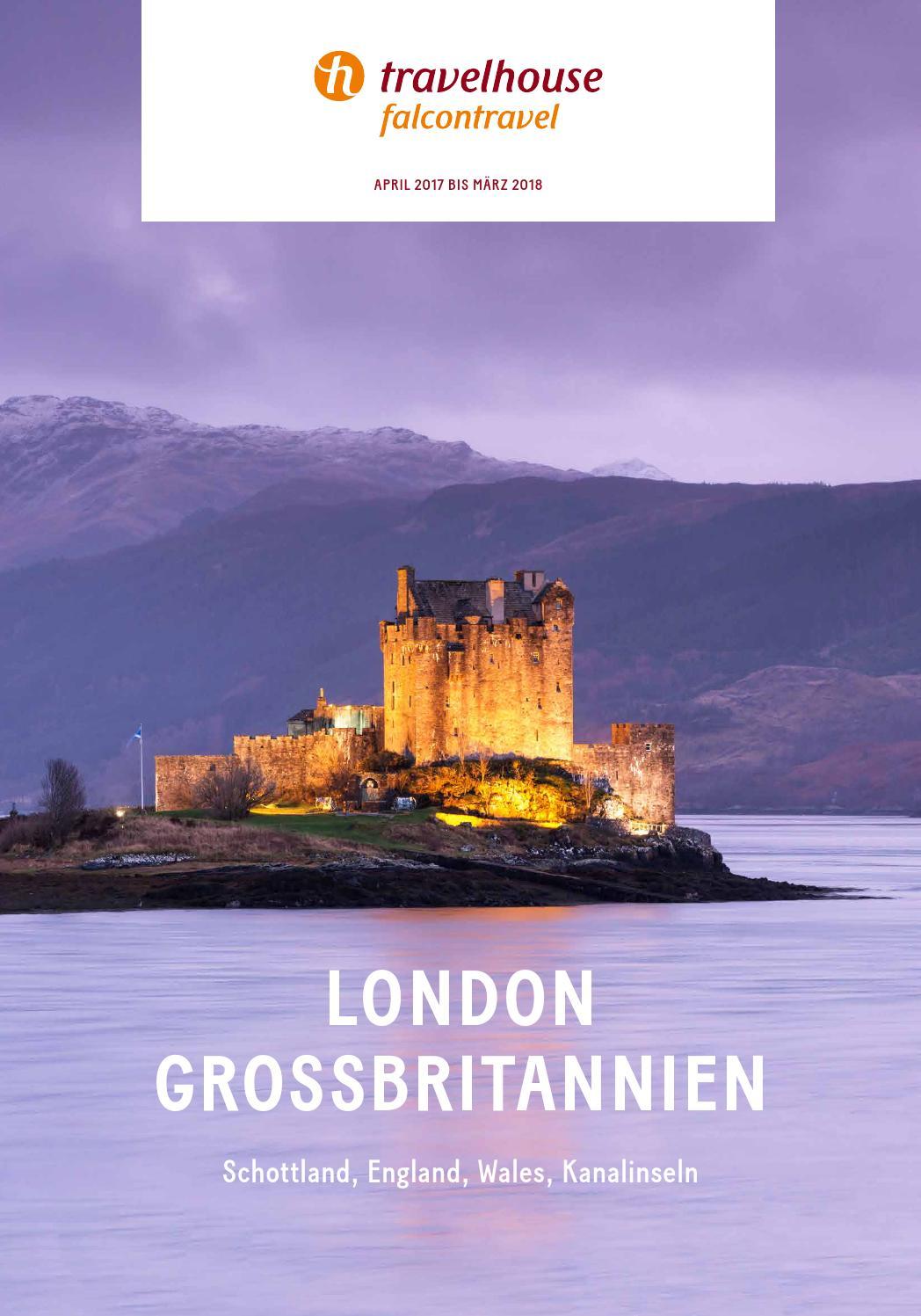 Travelhouse London und Grossbritannien – von April 2017 bis März ...