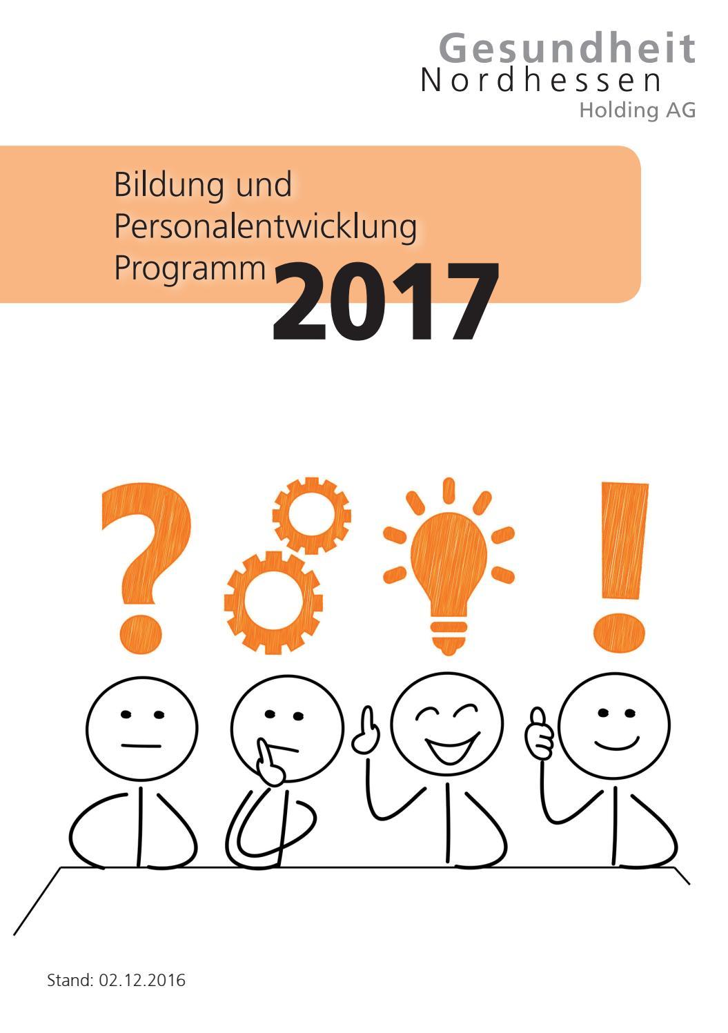 Programm Bildung und Personalentwicklung 2017 by Roberts Marken ...