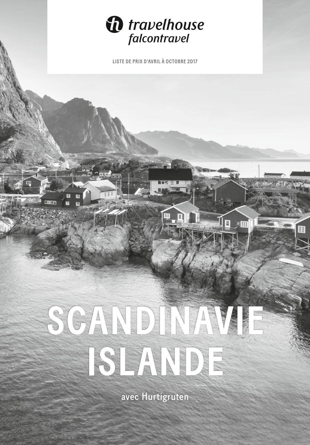 liste de prix travelhouse scandinavie et islande d 39 avril octobre 2017 by hotelplan suisse. Black Bedroom Furniture Sets. Home Design Ideas