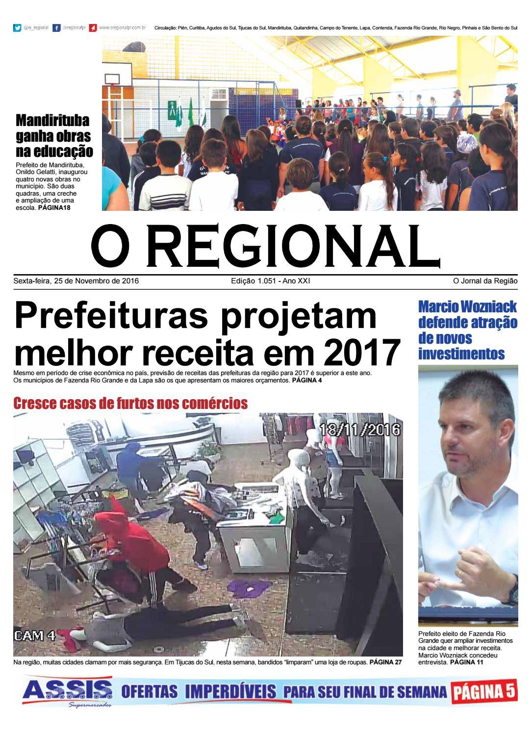 Ed. 1.051 O Regional by O Regional PR - issuu 01b5be55f3c