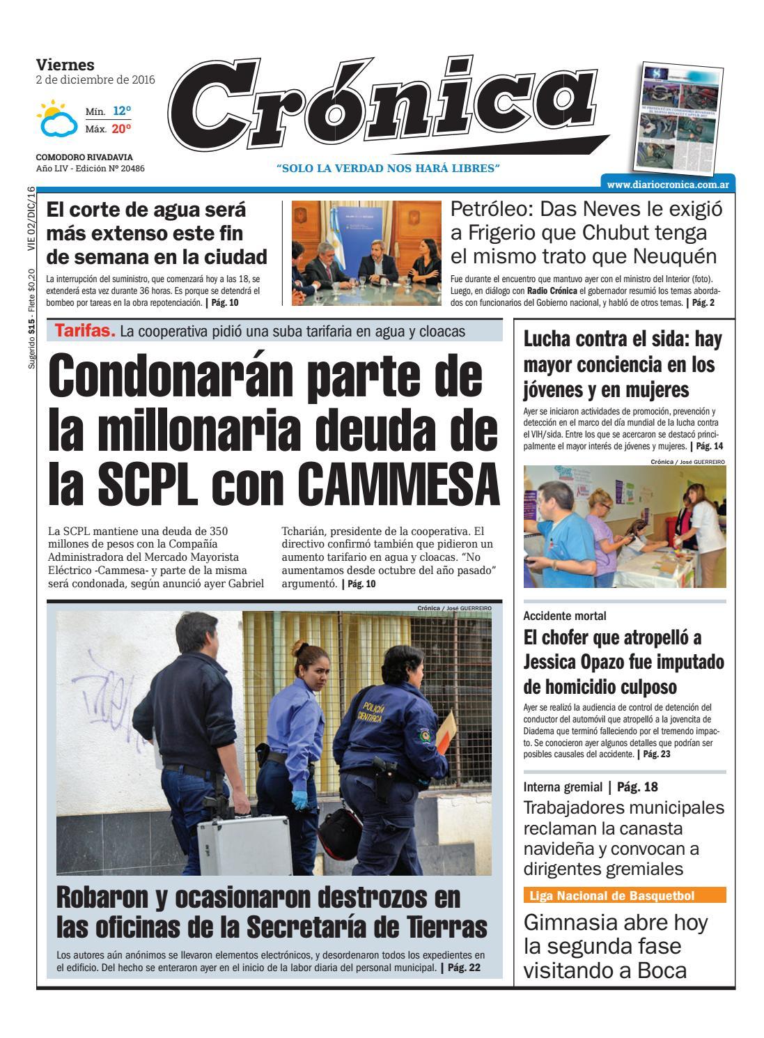 845d9cf635f0666f7b735d086181e543 by Diario Crónica - issuu