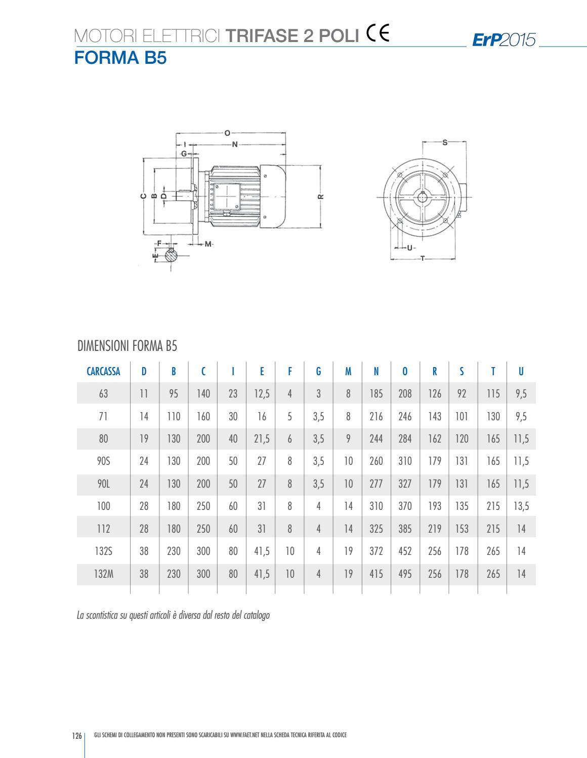 Schema Elettrico Trifase : Faet 2015 catalogo ventilatori motori by simone banfi issuu