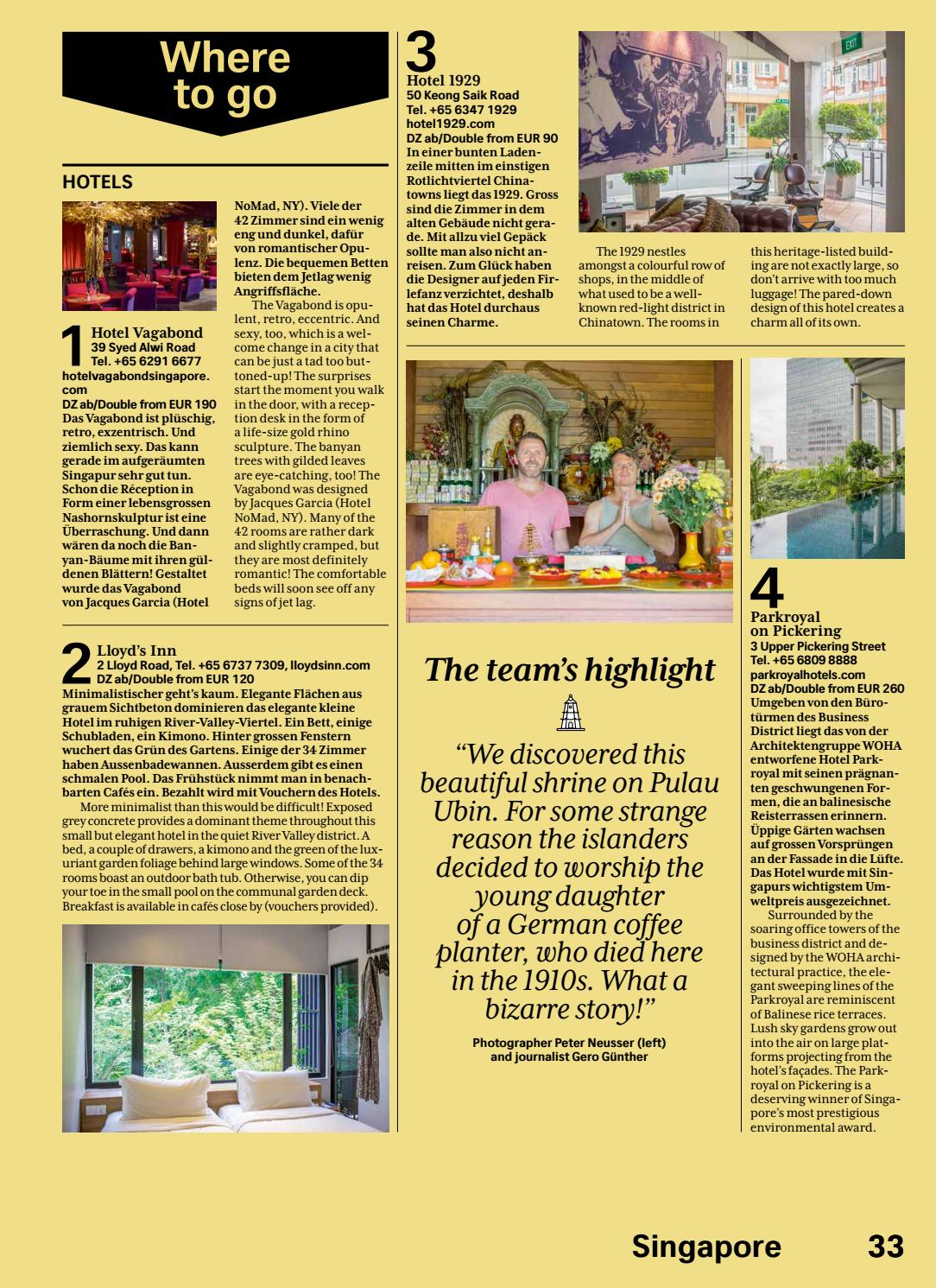 Swiss Magazine December - January 16/17 - SINGAPORE by Inflight ...
