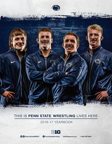 Penn State Wrestling 2016-17 Yearbook by Penn State Athletics - issuu