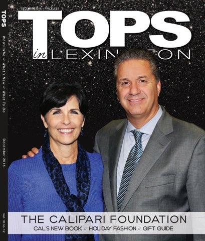 777c4050e TOPS in Lexington: December 2016 by TOPS Magazine - issuu