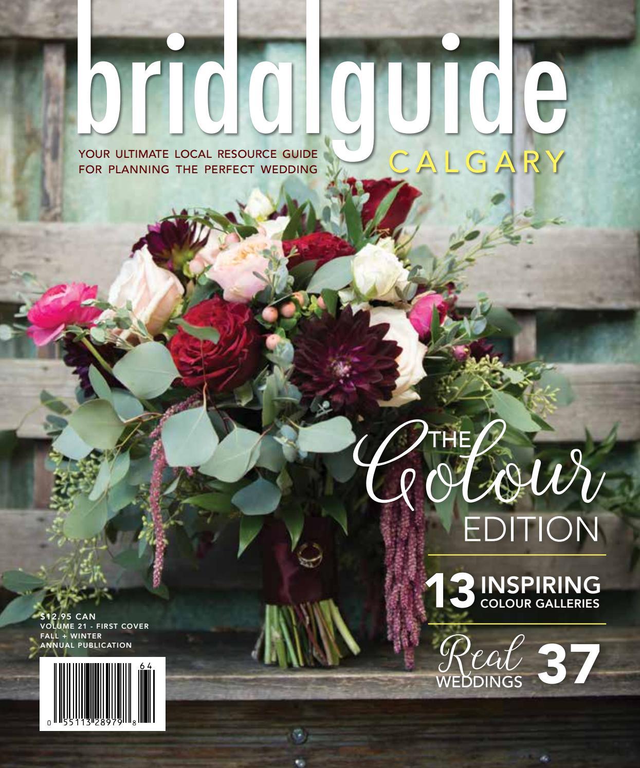 2016 Calgary Bridal Guide - The Colour Edition