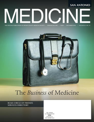 d1740e3d1bc San Antonio Medicine December 2016 by Traveling Blender - issuu