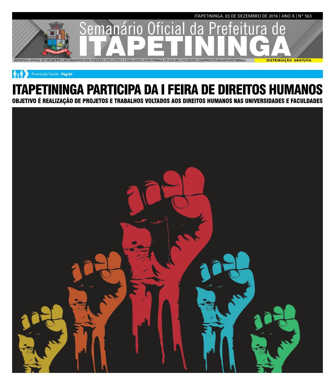bc96a216aa278 Semanário  563 da Prefeitura de Itapetininga by Prefeitura Municipal de  Itapetininga - issuu