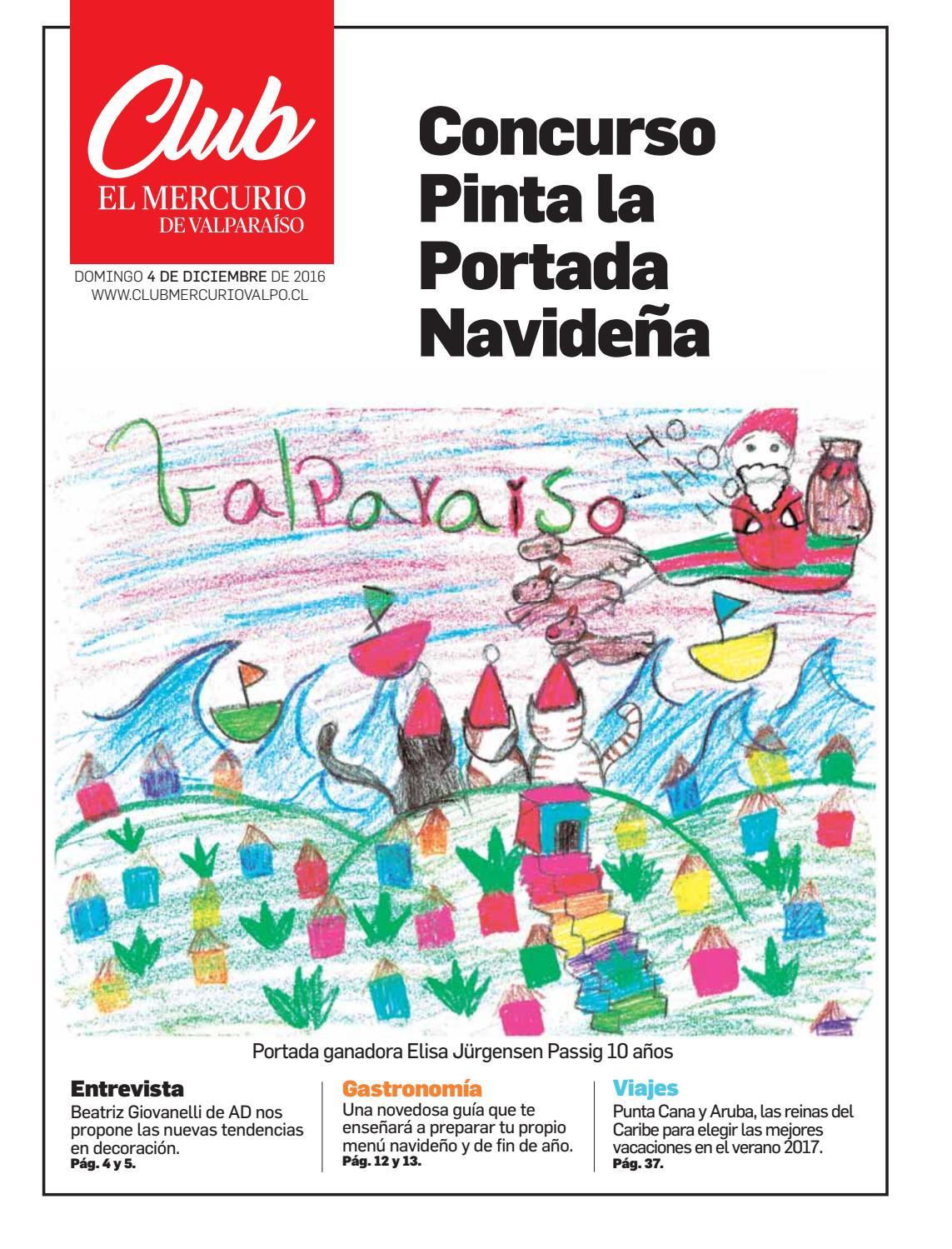 Club de Lectores El Mercurio de Valparaíso Diciembre 2016 by El Mercurio de  Valparaíso Especiales - issuu 3b181b1c08