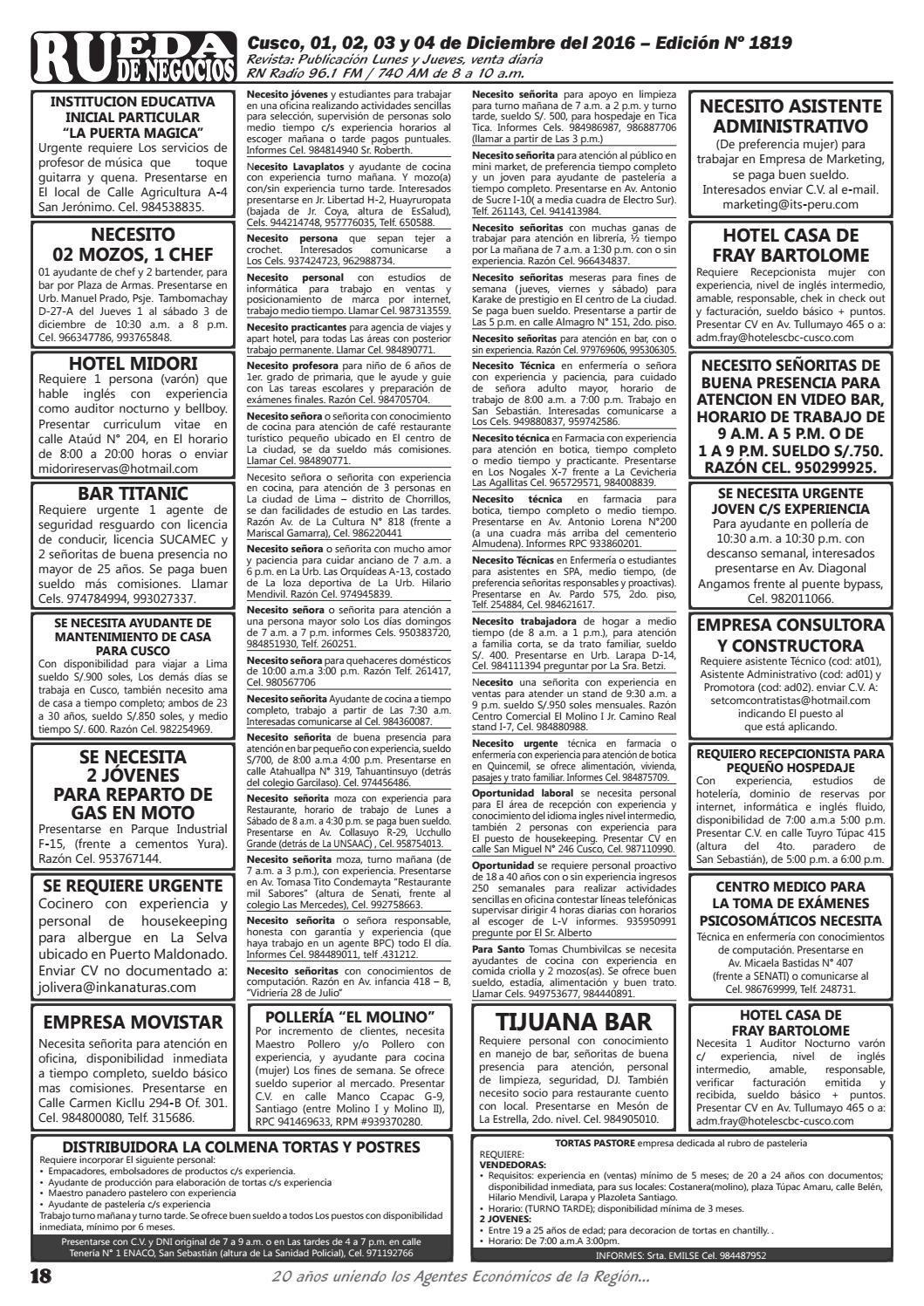 Edicion 1819 By Rueda De Negocios Issuu