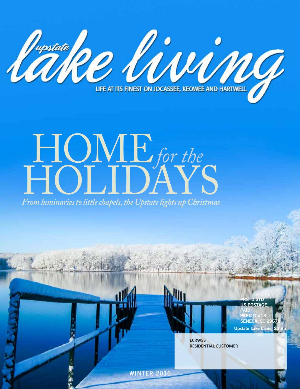 Upstate Lake Living Winter 2016 by EDWARDS PUBLICATIONS - issuu