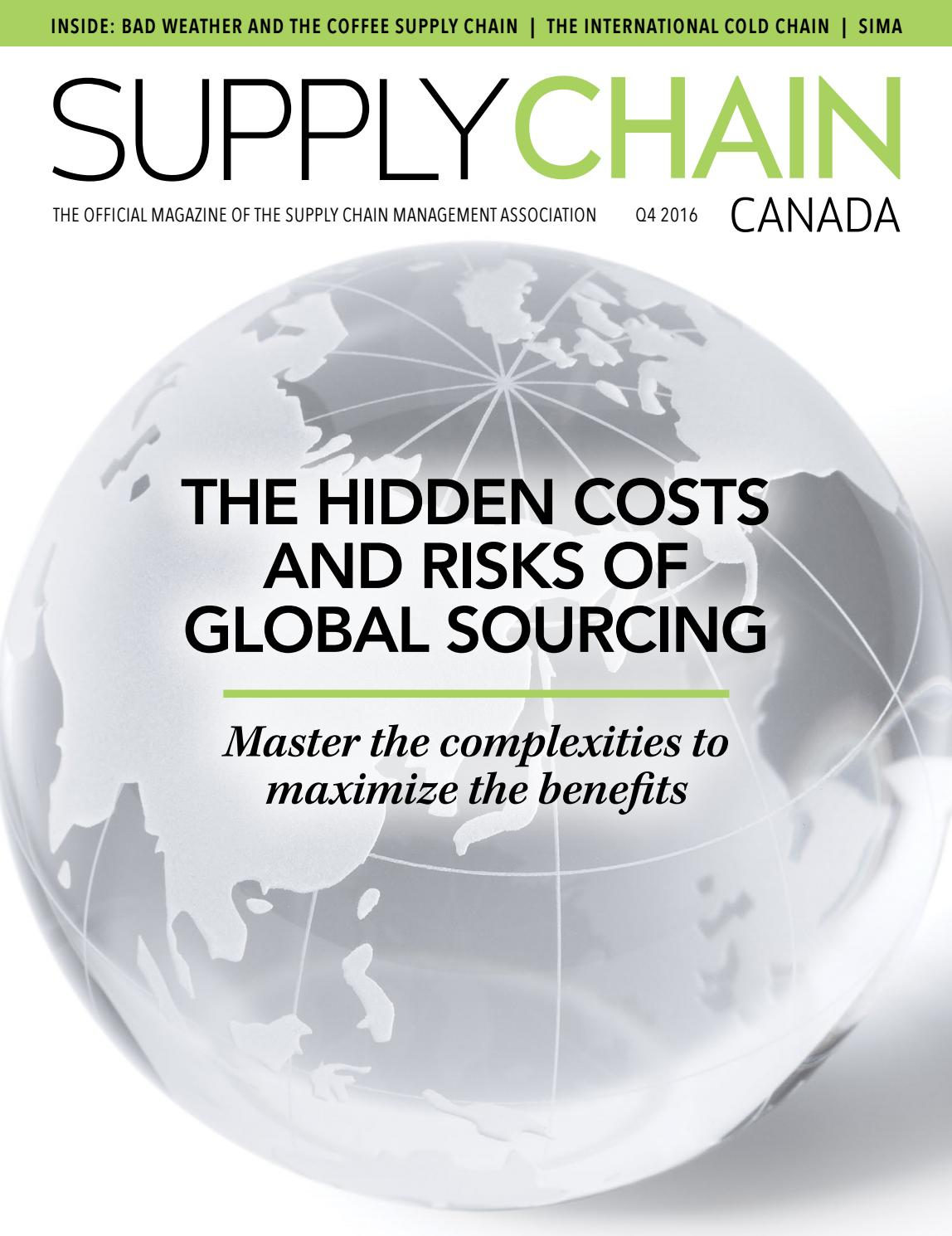 Supply Chain Canada Q4 2016 By Lester Publications Issuu