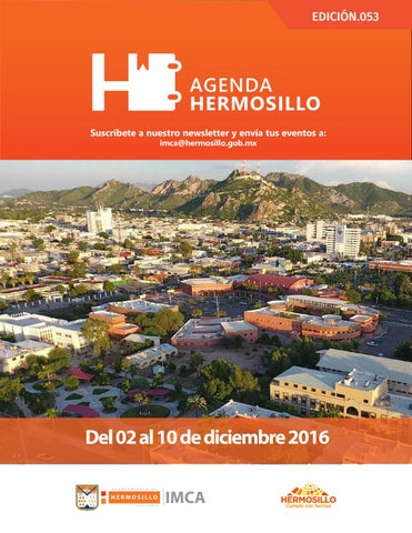 "Cover of ""Agenda Hermosillo 02 Dic 2016"""