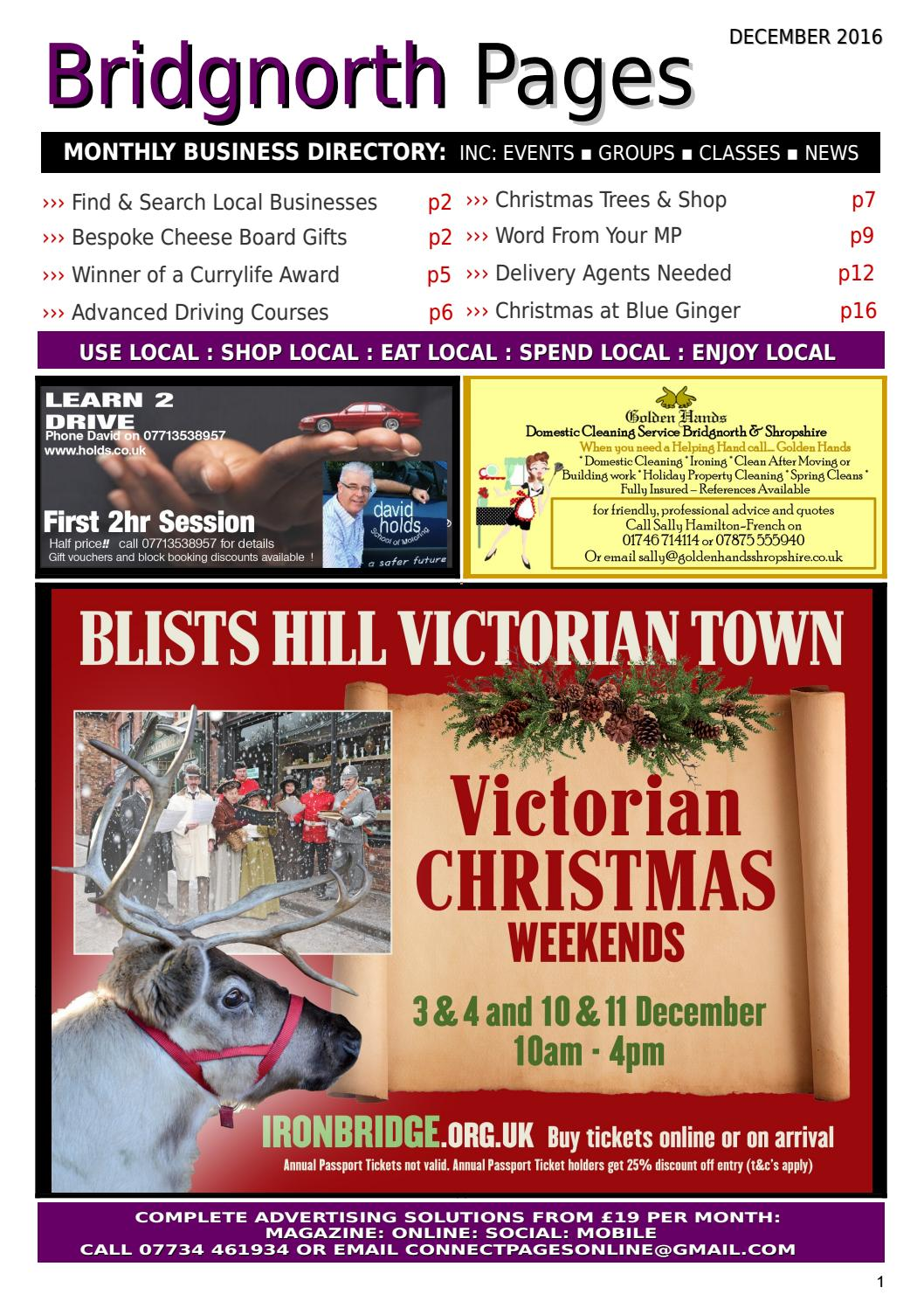 Bridgnorth Pages December 2016 by Kay Garrison - issuu