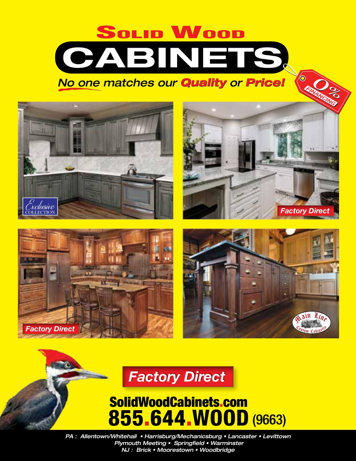 Solid Wood Cabinets Company By The Cabinet King   Issuu