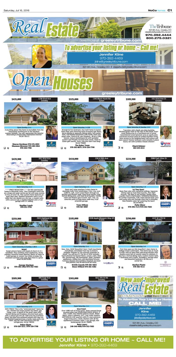 Greeley classifieds july 16 by The Greeley Publishing