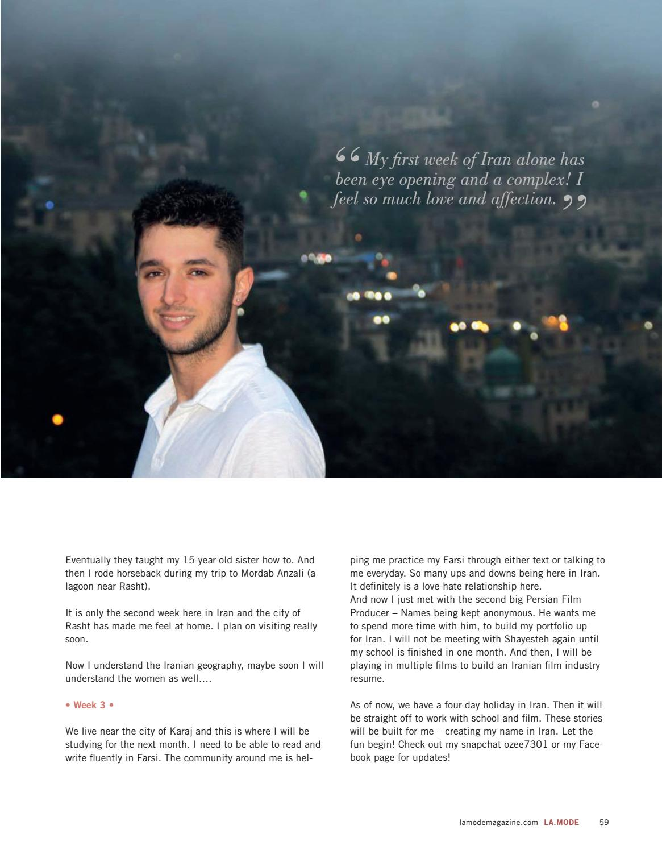 La Mode Fashion Magazine Winter Edition by La Mode - issuu