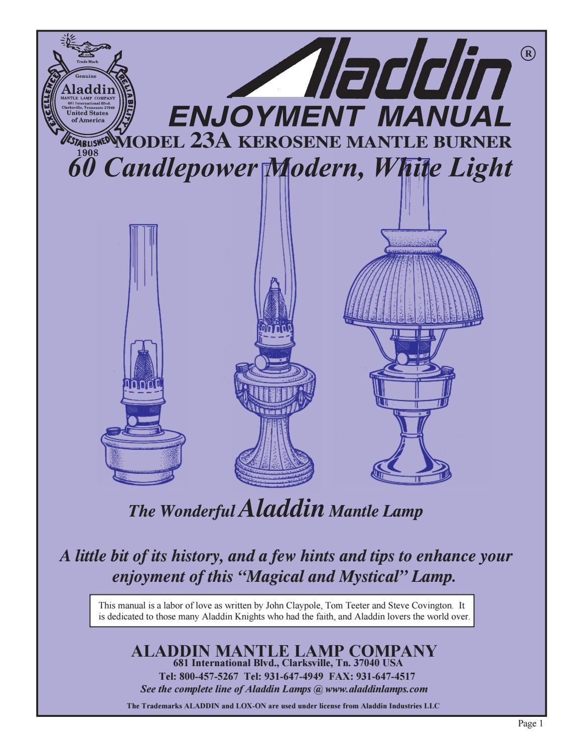 ALADDIN LAMP NICKEL FILLER PLUG N115N