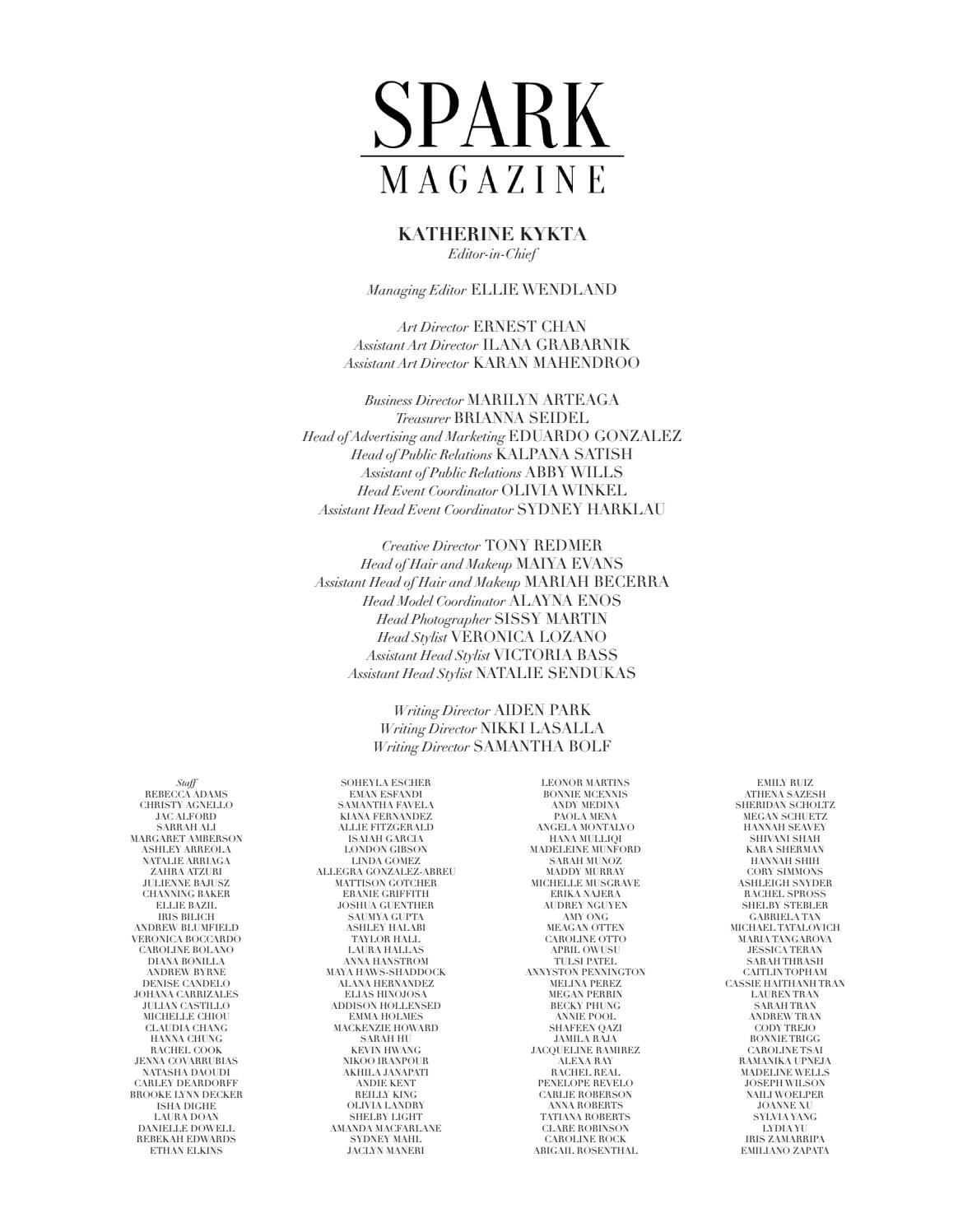 Spark Magazine No 7 By Spark Magazine Issuu
