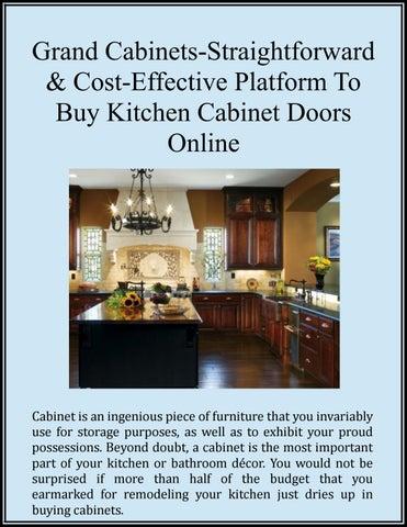 Grand Cabinets Straightforward Cost Effective Platform To Buy