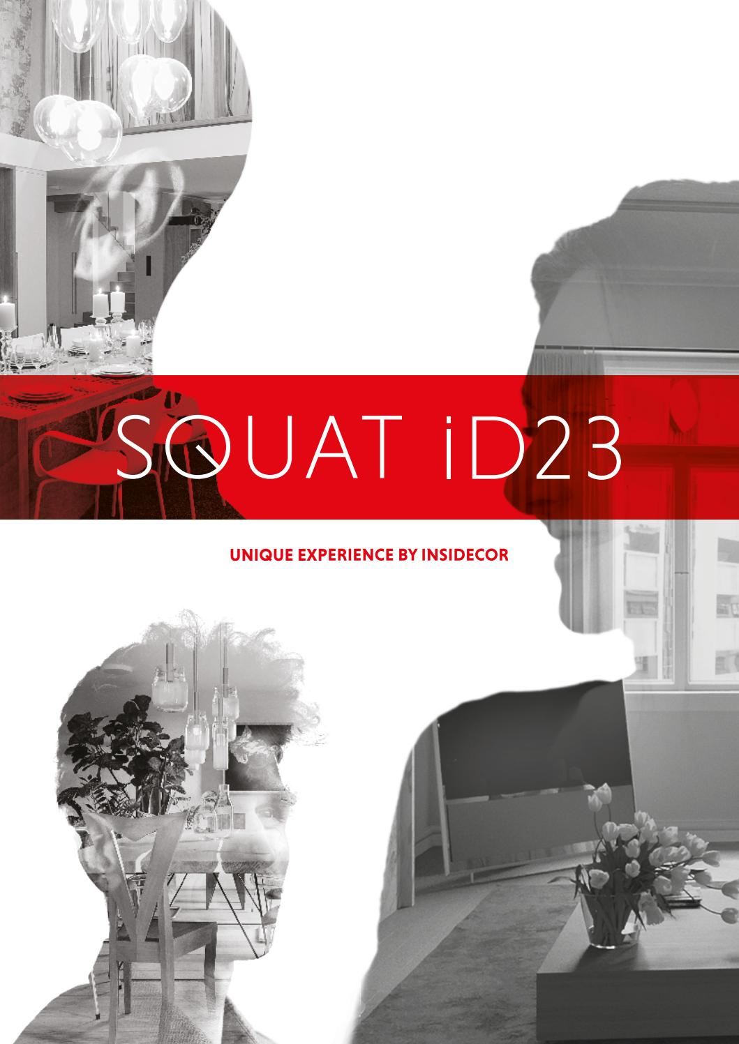 SQUAT iD23 - A unique experience by insidecor by insidecor - issuu 533729167d