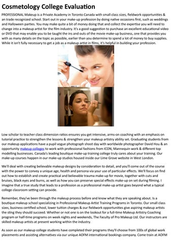 Ei Makeup School By