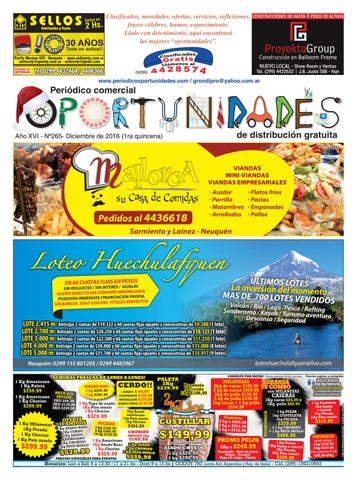 efc5f5e93 Oport 265 by Periodico Oportunidades - issuu