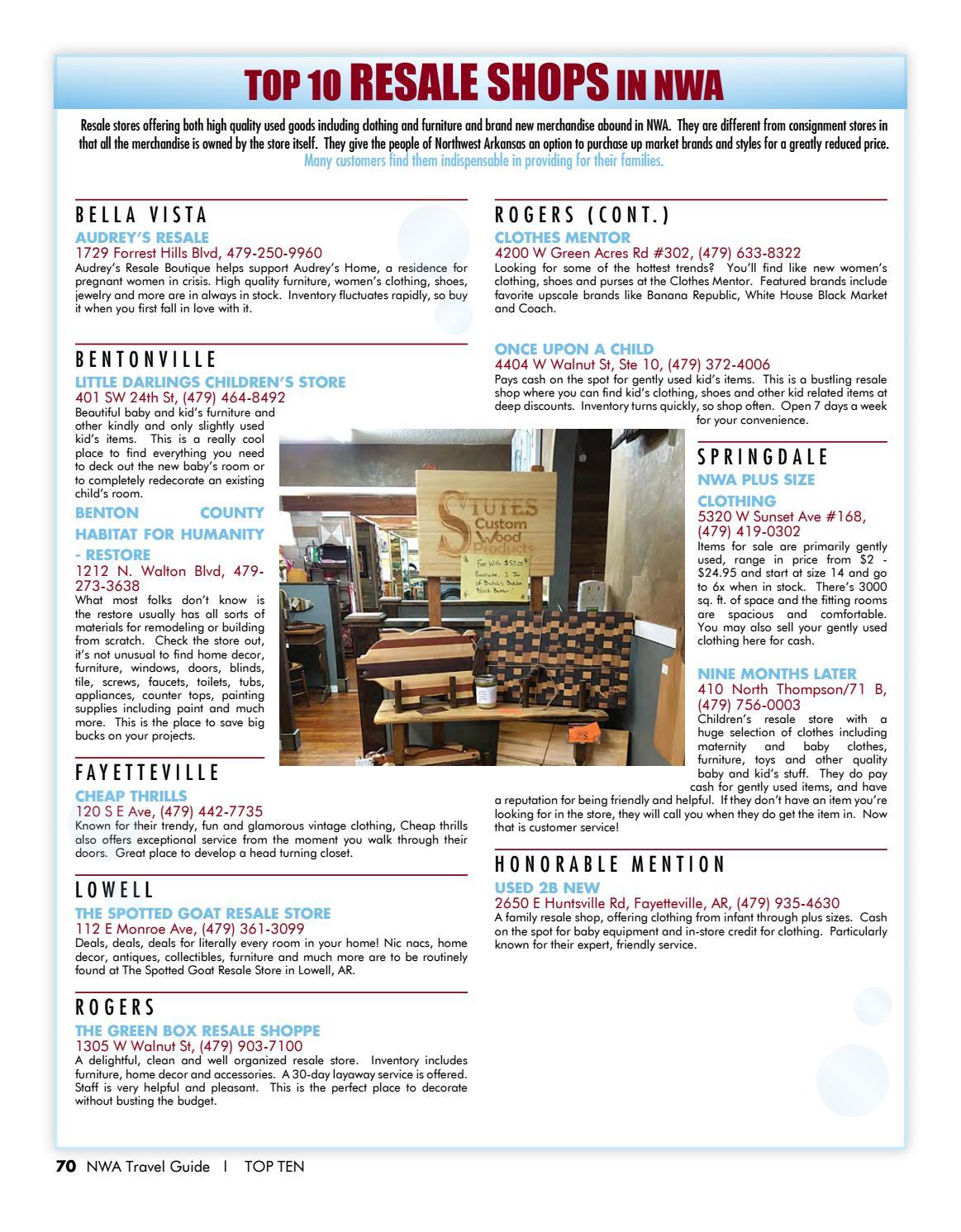 c98fe4f71ca87f Best of NWA Top 10 Issue 4 by Best of Northwest Arkansas, Top 10 - issuu
