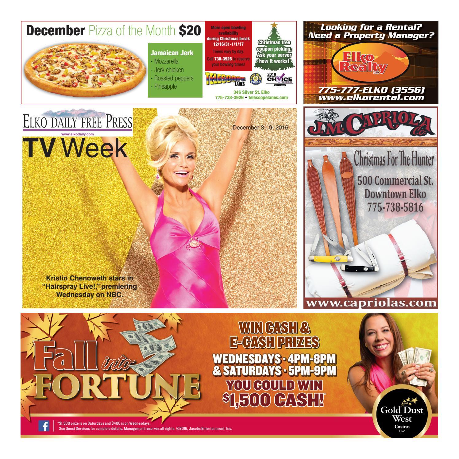 Elko Tv weekly by Matthew Gooch issuu