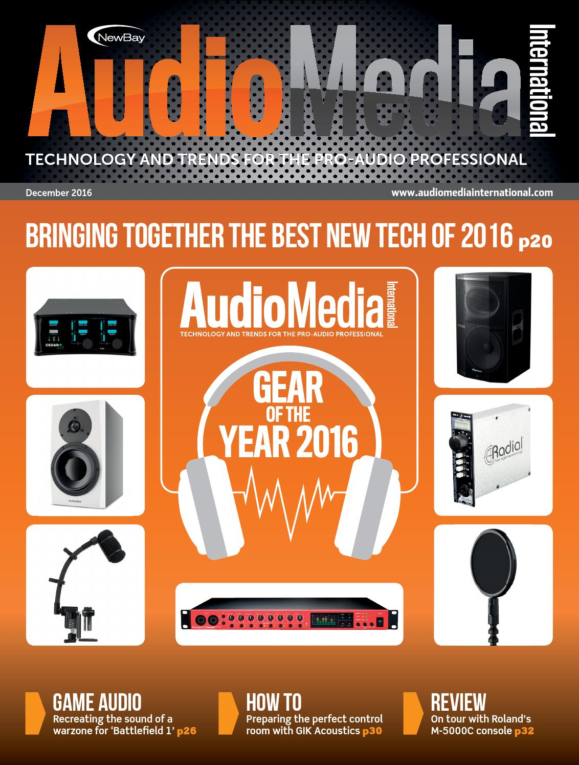 Ami December 2016 Digital Edition By Future Plc Issuu Powerline Carrier System Transmitter For Audio Music Speech