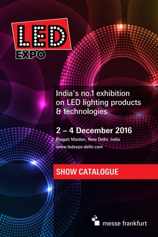 LED Expo Delhi Catalogue 2016 by Seema Bangera Kotian - issuu