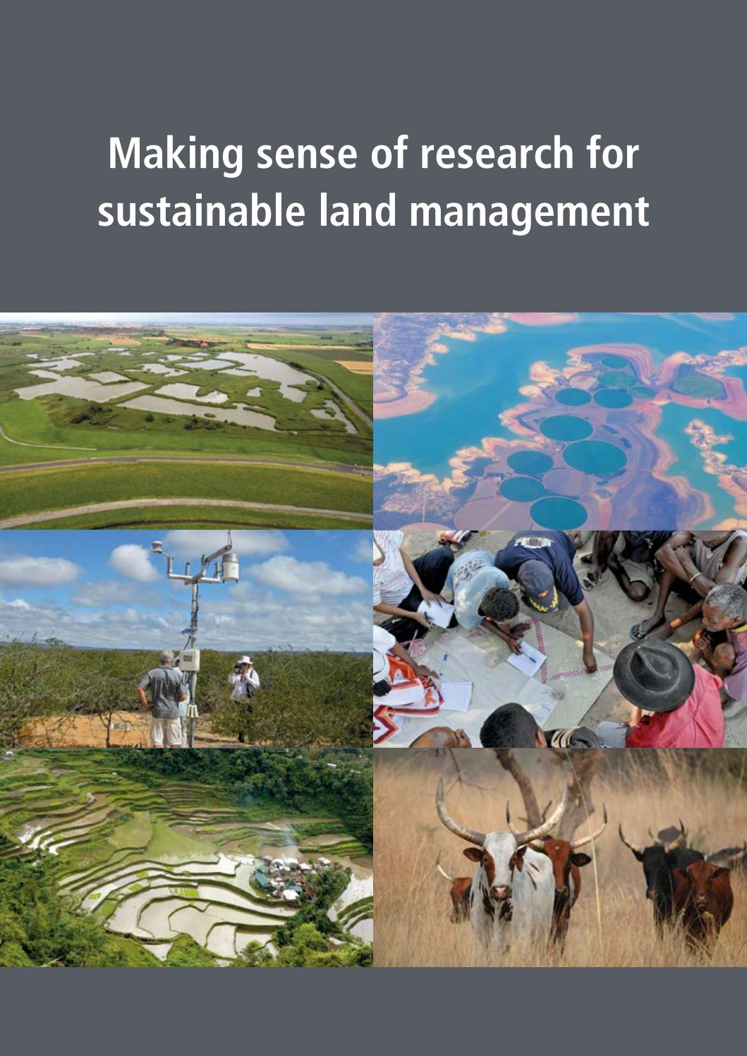 Making sense of research for sustainable land management by wocat making sense of research for sustainable land management by wocat issuu fandeluxe Gallery