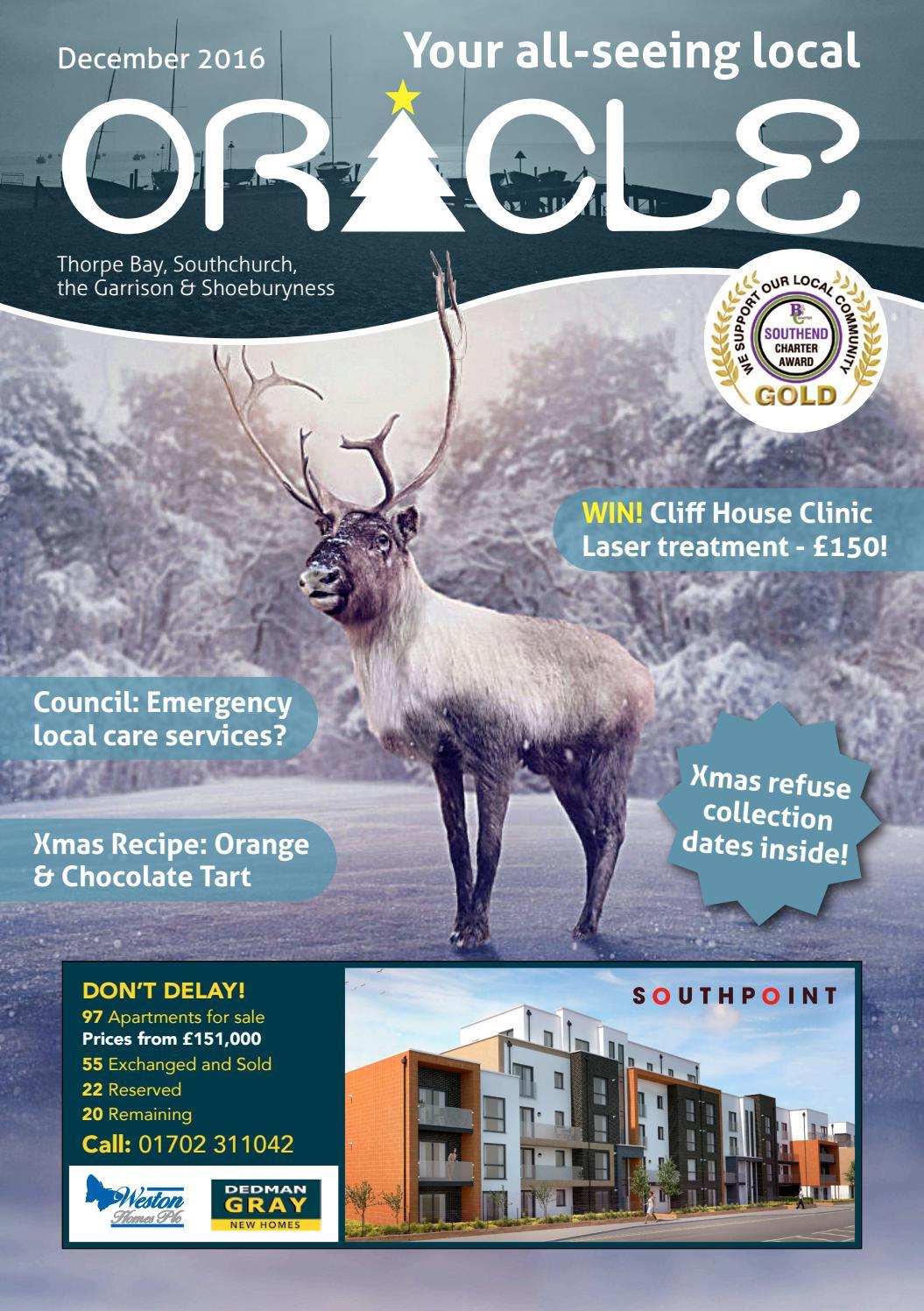 Oracle Thorpe Bay December 2016 By Oracle Publications Issuu