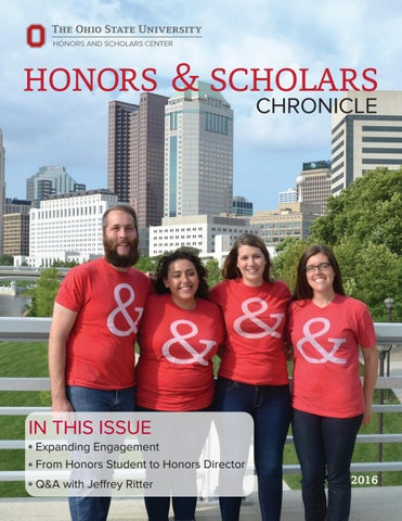 Honors & Scholars Chronicle 2016 by Ohio State University