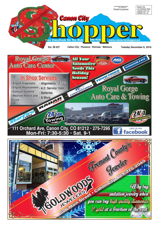 Canon City Shopper 12-6-16 by Prairie Mountain Media - issuu