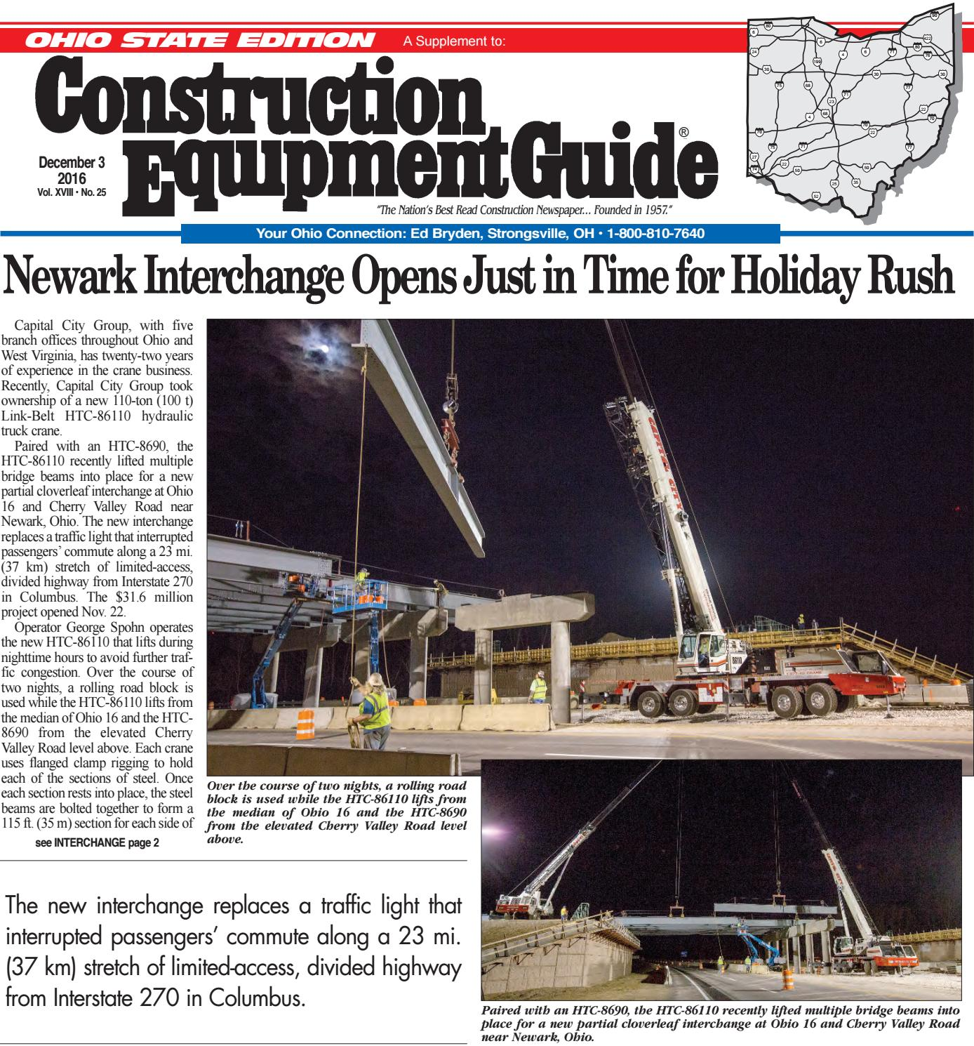 Ohio 25 December 3, 2016 by Construction Equipment Guide - issuu