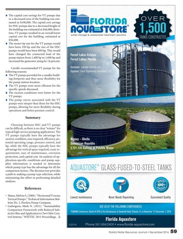 Florida Water Resources Journal December 2016 By Florida Water