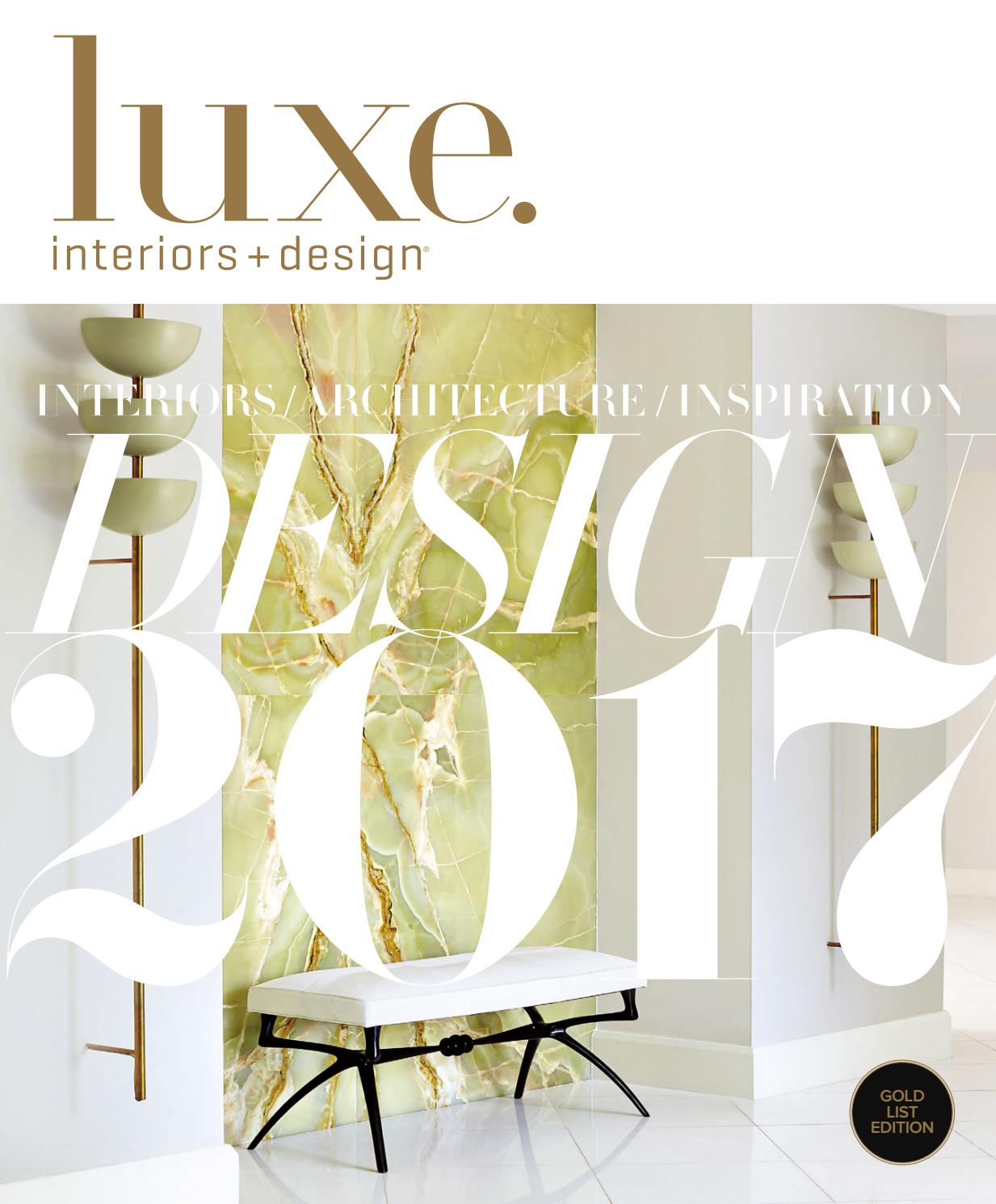 Luxe Magazine January 2017 National by SANDOW® - issuu
