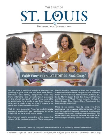 The Spirit of St. Louis | December 2016 & January 2017 by St. Louis ...