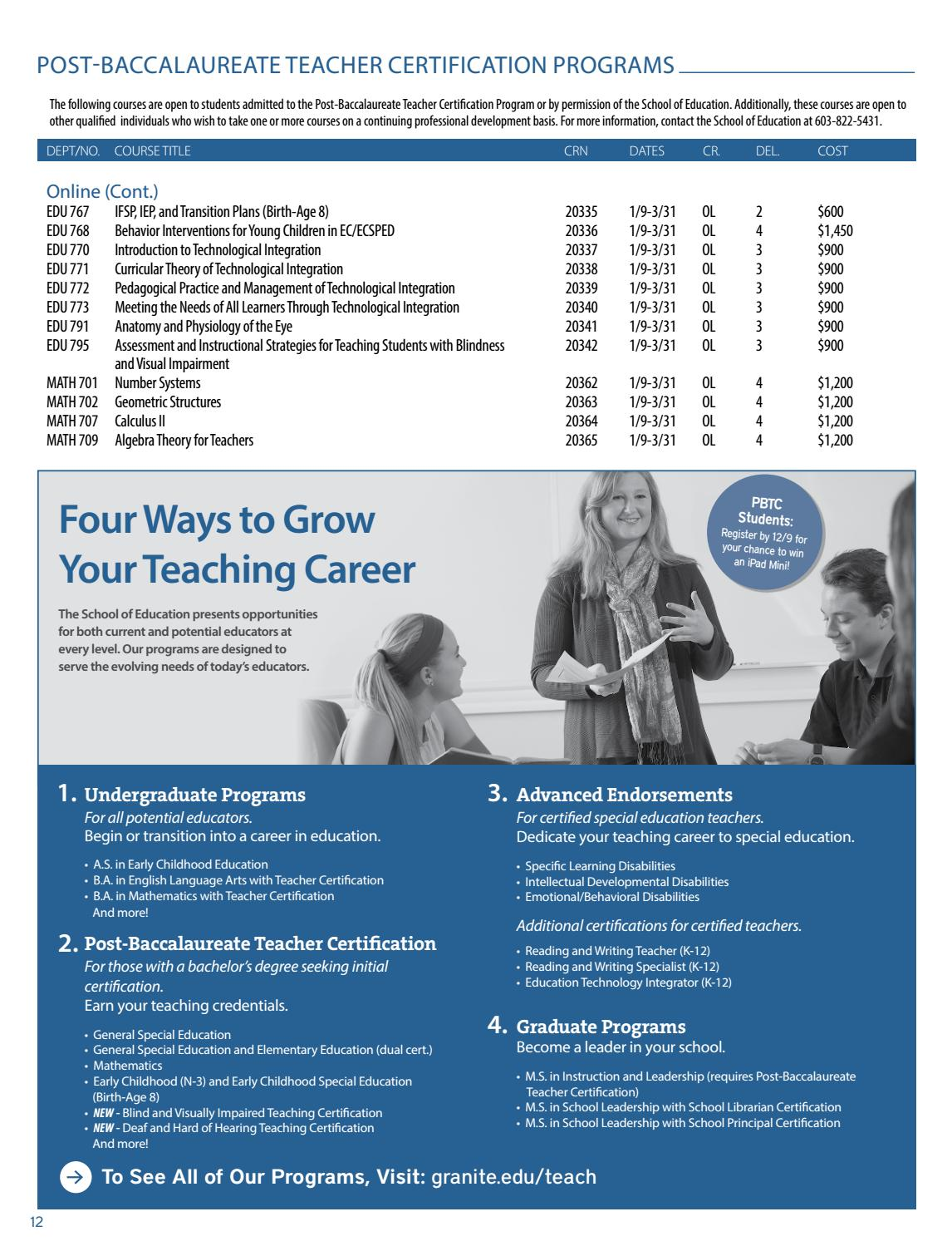 Winter course schedule 2017 by granite state college issuu 1betcityfo Gallery