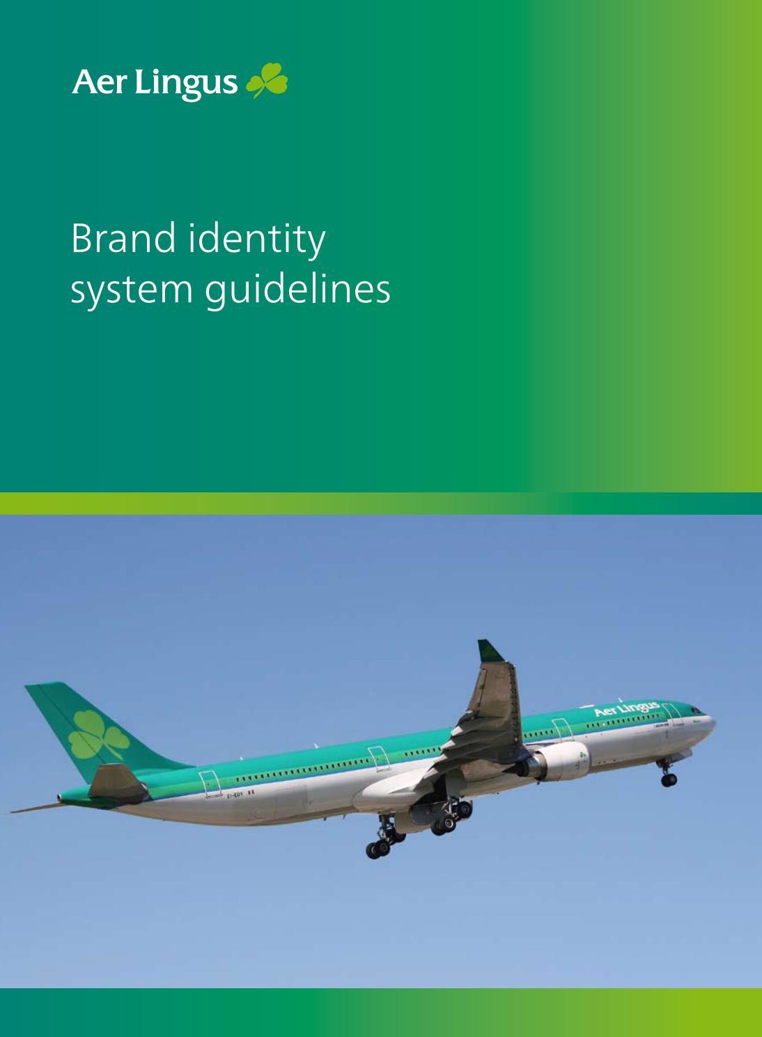 Aerlingus Brand Identity System Guidlines by Lukasz