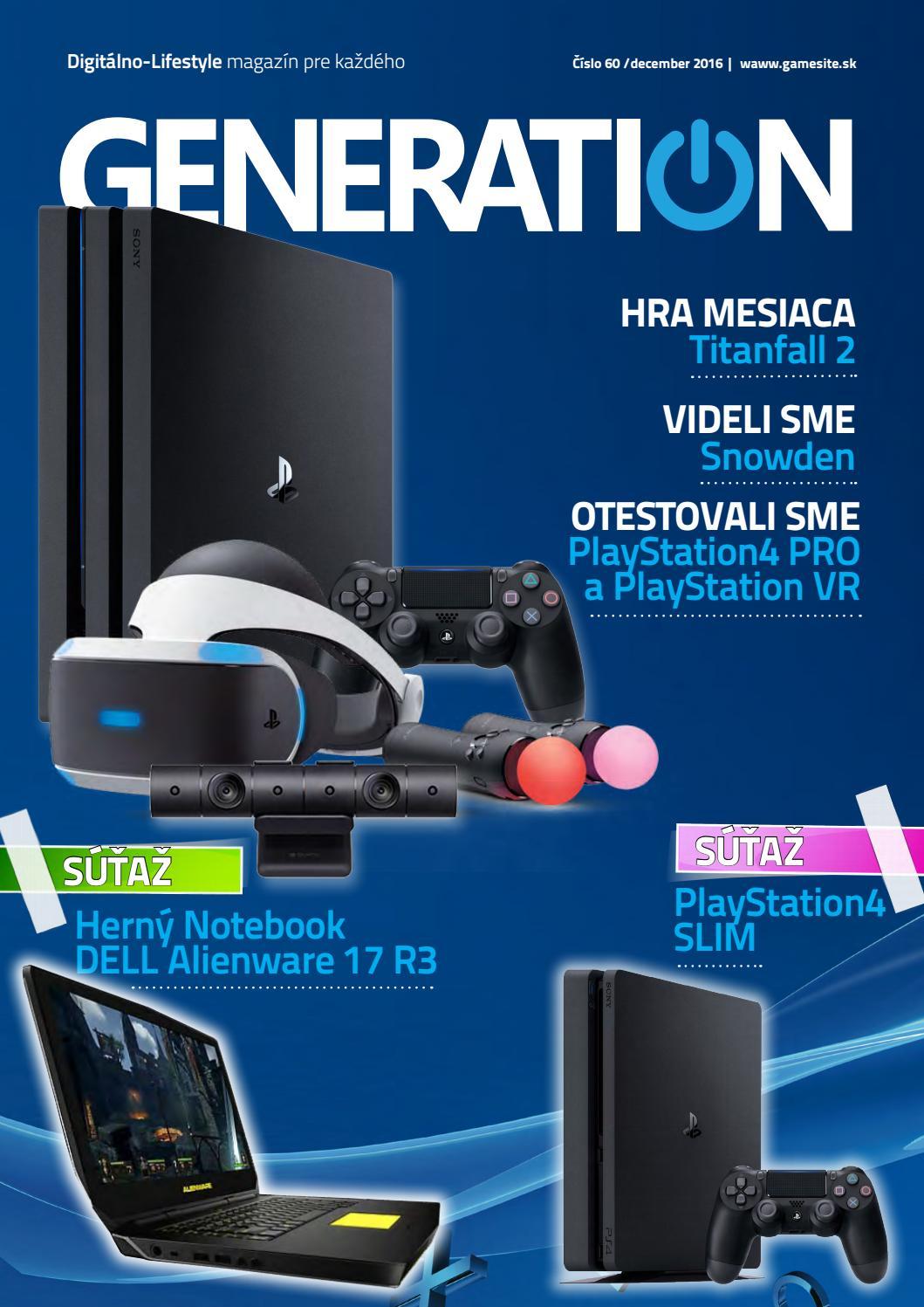 15aeaaad7 Generation magazín #060 by Generation magazine - issuu