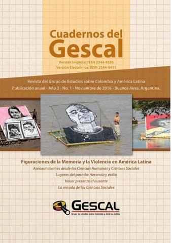 Cuadernos del Gescal  Figuraciones de la memoria y la violencia en ... 18063a1c982