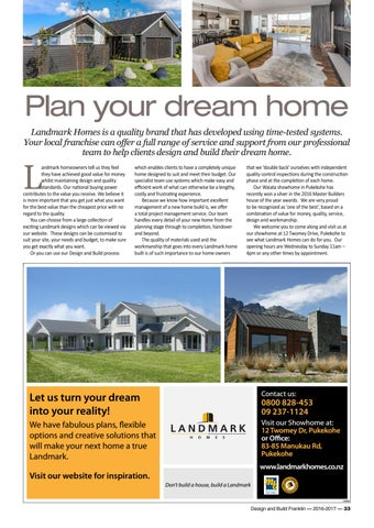 Design And Build Franklin 2016 17 By Times Media Issuu