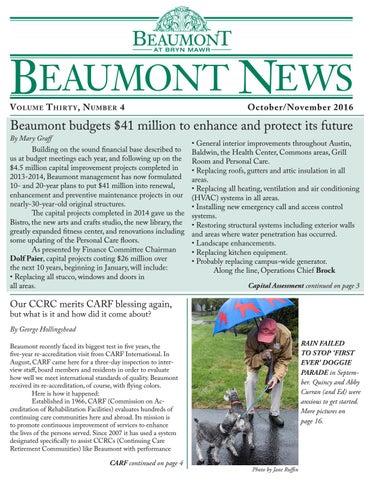 f37f8f68030 Beaumont News November 2016 by Articus