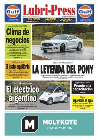 LUBRI-PRESS 236 - Diciembre 2016 by Autopress Ediciones - issuu 6edc1864060