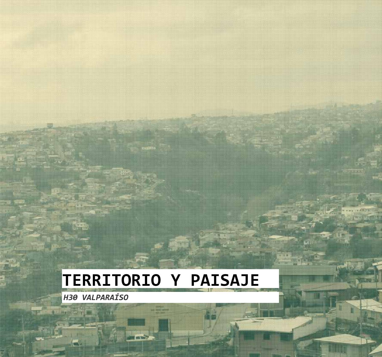 Libro: Valparaíso. H30: Plan Maestro. Serie Territorio y Paisaje ...