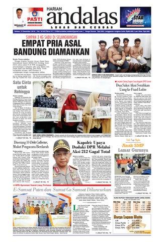 Epaper andalas edisi selasa 6 desember 2016 by media andalas - issuu 2523f6979c