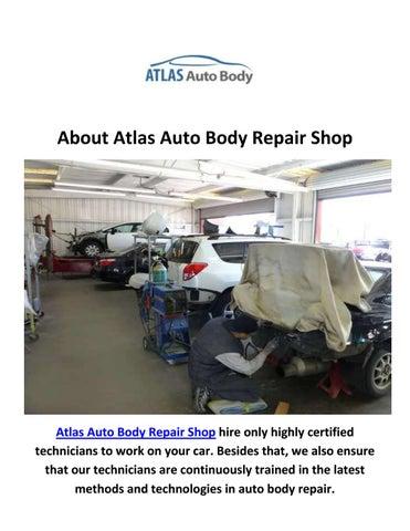 Auto Body Repair Shop >> Atlas Auto Body Shop In Northridge Ca By Atlas Auto Body