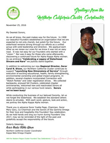 2017 fwr founders day registration by aka far western region issuu greetings from the northern california cluster coordinator november 25 2016 my dearest sorors as we all know the past makes way for the future m4hsunfo